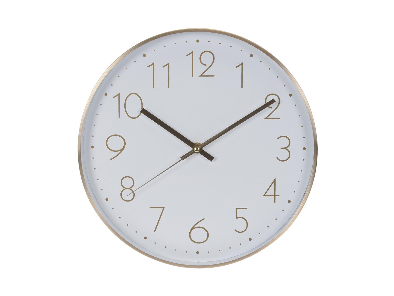 Часы NilsenЧасы<br>Настенные часы, в алюминиевом корпусе<br>