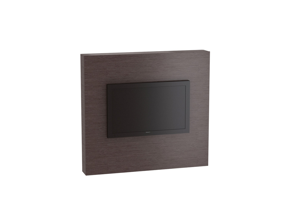 Панель NexusШкафы, комоды, полки<br>Панель для ТВ с выдвижными полками для хранения компакт-дисков. Полки могут выдвигаться с правого или с левого торца панели, определяется при сборке. Панель крепится на стену.<br>