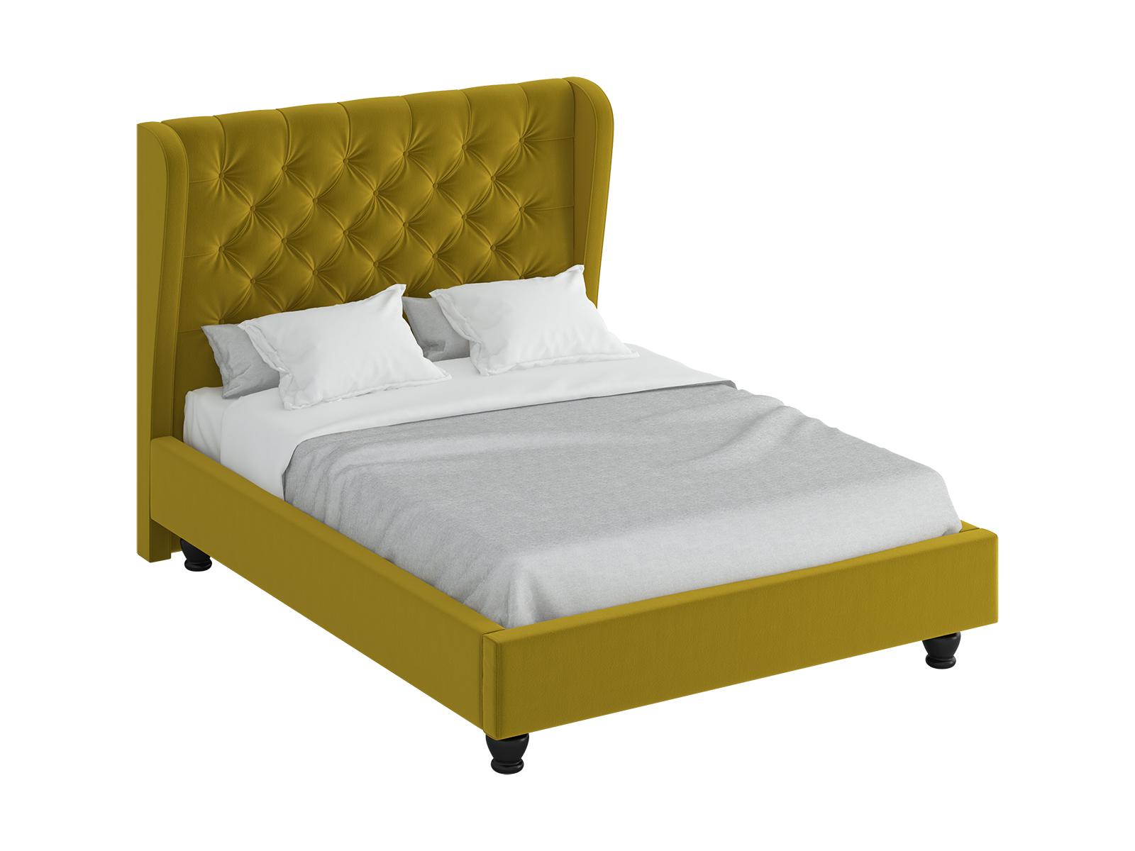 Кровать JazzКровати<br>Двуспальная кровать с высокой спинкой и декоративными  элементами . Спинка декорирована пуговицами. Кровать установлена на фигурные деревянные ножки. Выполняется в трёх вариантах размеров спального места: 2000х2000 мм, 1800х2000 мм и 1600х2000 мм.<br>