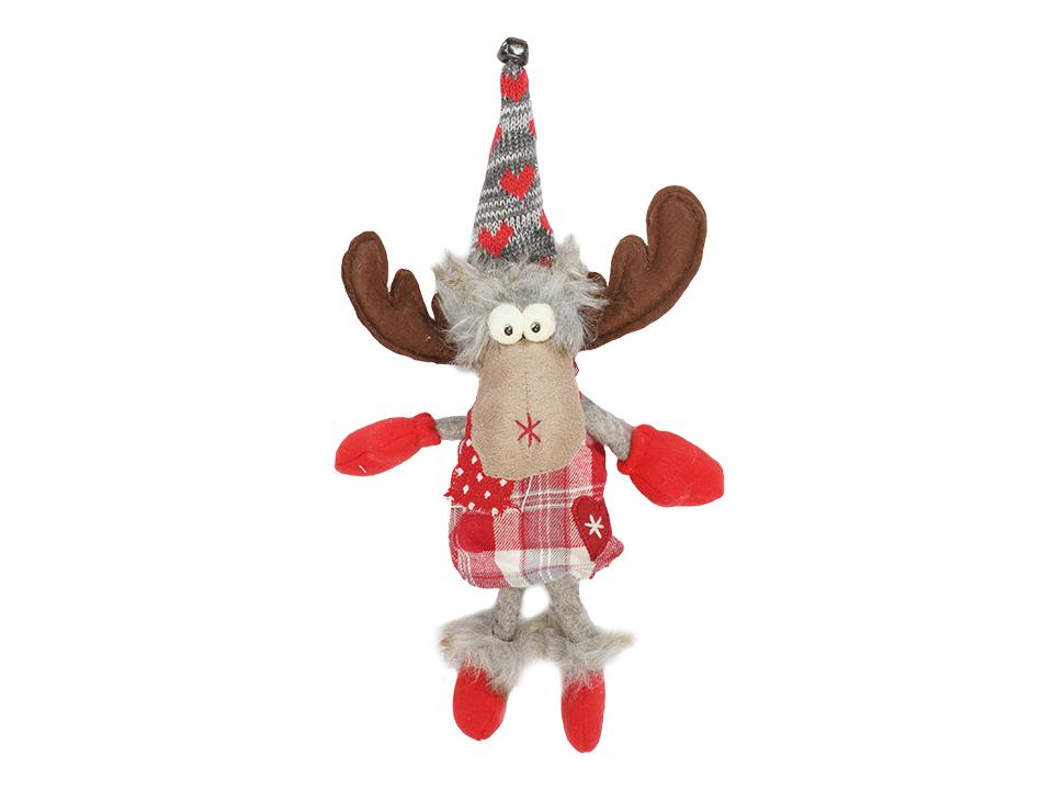 Игрушка Elk RedНовогодний декор<br>Игрушка декоративная, подвесная<br>