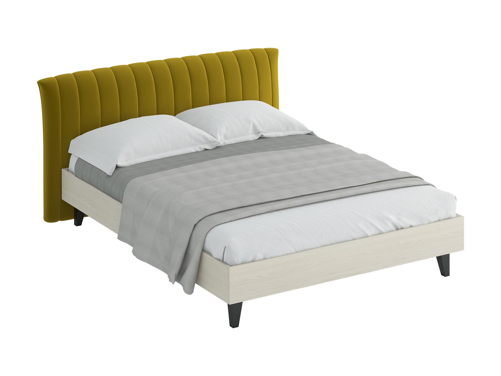Кровать Queen AnastasiaКровати<br>Кровать двуспальная.  Спинка кровати оформлена декоративной строчкой. Размер спального места: 1600х2000 мм.<br>