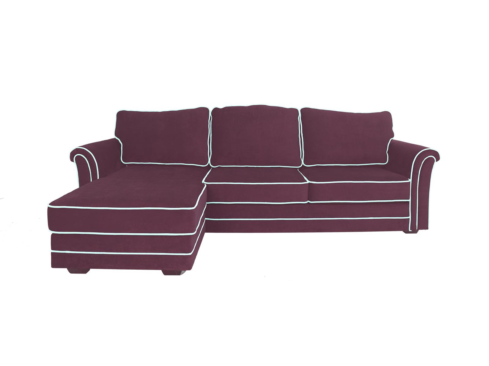 Диван SydneyДиваны и кушетки<br>Угловой диван-кровать с оттоманкой и ёмкостью для хранения. Оттоманка может располагаться как с левой, так и с правой стороны. Размер спального места 1840х1330 мм. Механизм трансформации Sedaflex. <br>