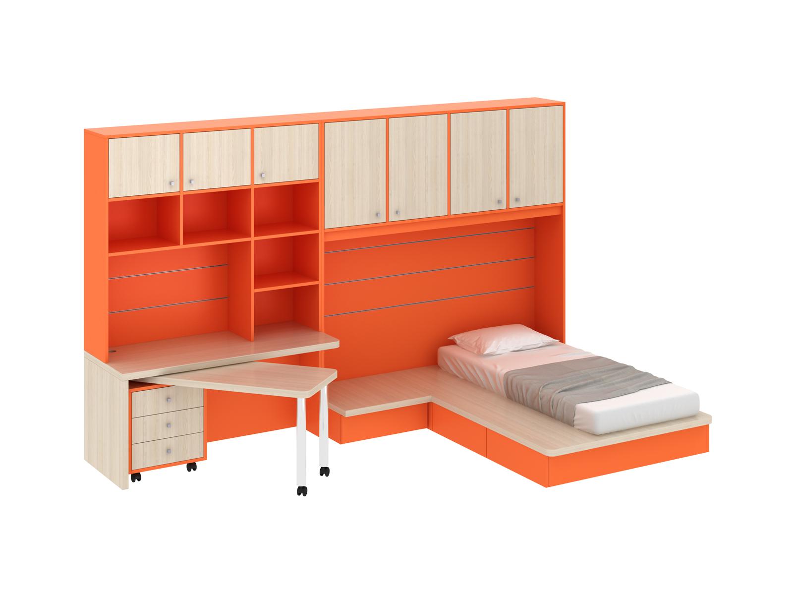 Композиция Pinokkio 8Основной раздел каталога<br>Широкий ассортимент модулей и яркий выбор цветов корпусов и фасадов. В коллекции ипользуется фурнитура производства Италии.<br>