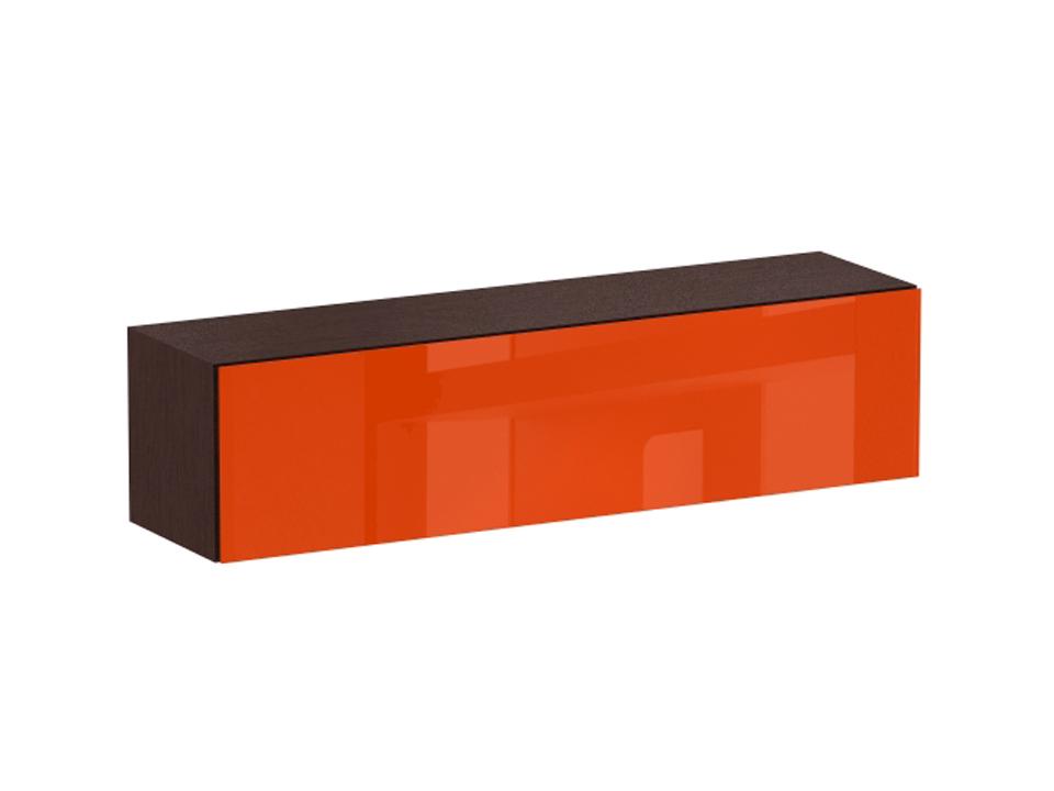 Секция верхняя CuboШкафы<br>Верхняя секция с двумя отделениями. Снабжена подъемной дверью на газовых кронштейнах. Дверь открывается по принципу «нажал - открыл». Секция крепится к стене.<br>