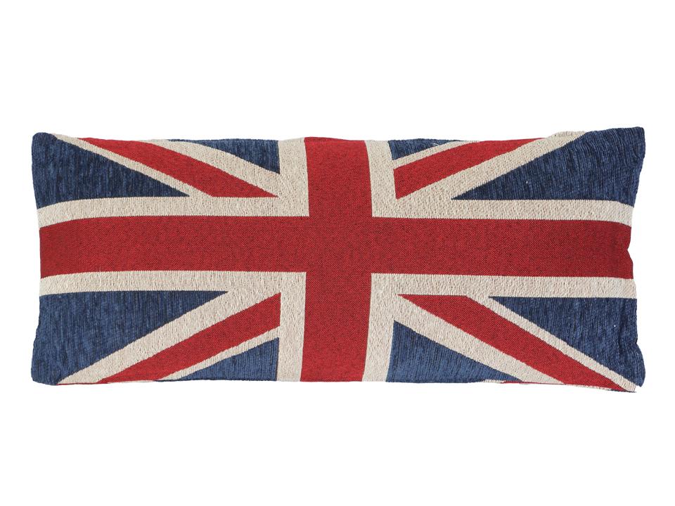 Подушка декоративная Union JackДекоративные подушки<br>Декоративная подушка со съёмным чехлом<br>