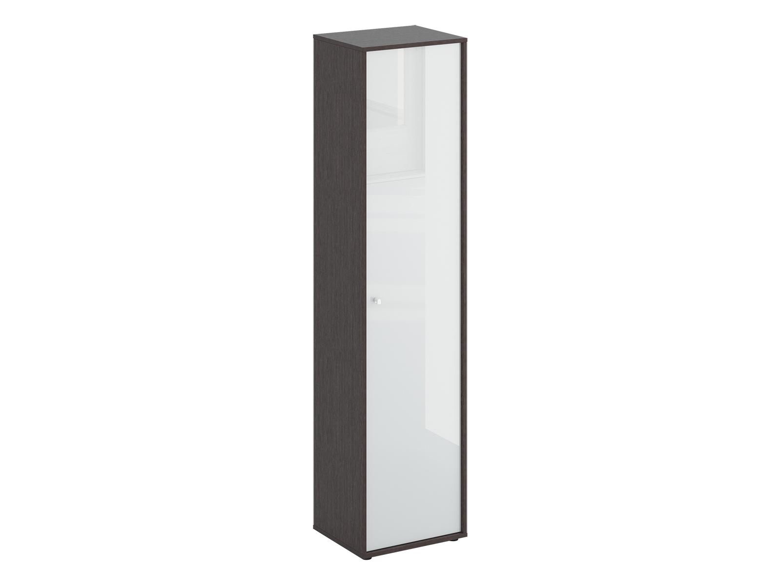 Шкаф однодверный LatteШкафы и вешалки<br>Шкаф однодверный. Наполнение шкафа - 5 полок. Шкаф крепится к стене.<br>