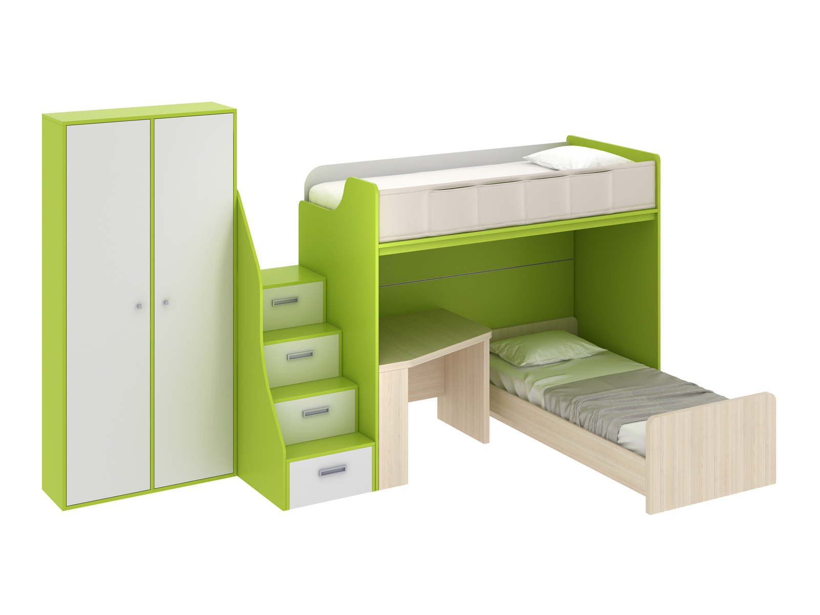 Композиция Pinokkio 5Основной раздел каталога<br>Широкий ассортимент модулей и яркий выбор цветов корпусов и фасадов. В коллекции ипользуется фурнитура производства Италии.<br>