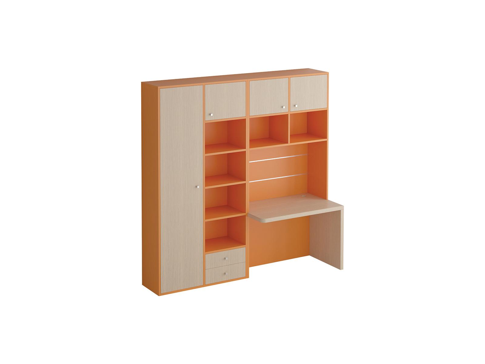 Композиция Pinokkio №6_1Основной раздел каталога<br>Широкий ассортимент модулей и яркий выбор цветов корпусов и фасадов. В коллекции ипользуется фурнитура производства Италии.<br>