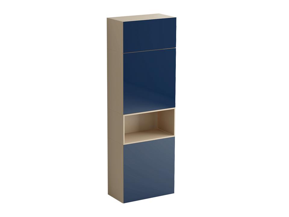 Шкаф DiamondШкафы<br>Шкаф включает в себя два отделения одинакового размера  с распашными дверями и полками, разделенные нишей, и отделение за подъемной дверью над ними. Двери шкафа открываются по принципу «нажал-открыл». Шкаф установлен на ножки с возможностью регулировки по<br>