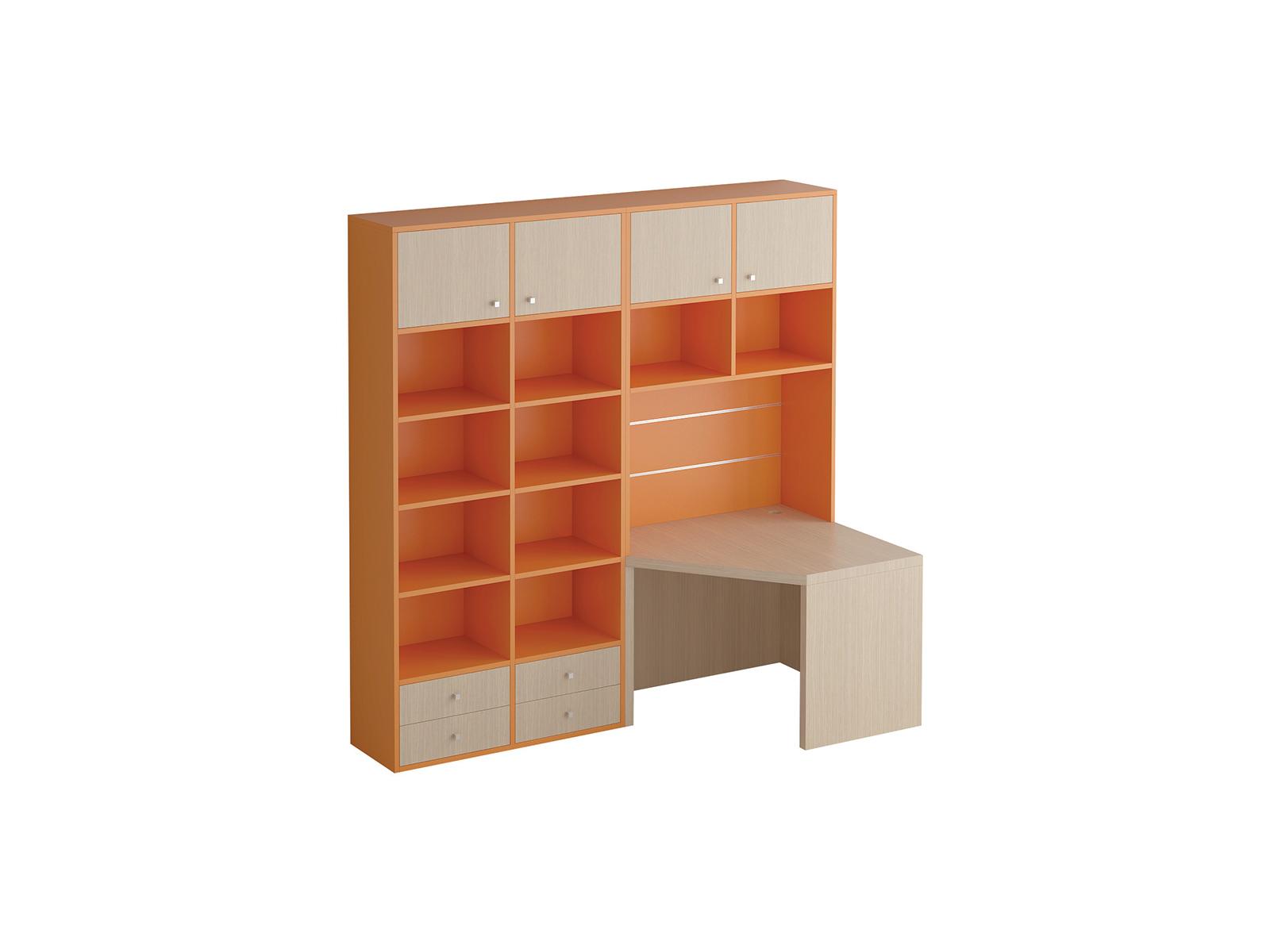 Композиция Pinokkio №16_1Основной раздел каталога<br>Широкий ассортимент модулей и яркий выбор цветов корпусов и фасадов. В коллекции ипользуется фурнитура производства Италии.<br>