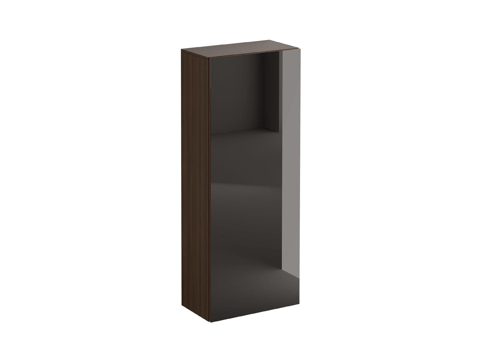 Шкаф для одежды GustoШкафы<br>Шкаф имеет два отделения. Верхняя стационарная полка образует отделение для хранения головных уборов. В нижнем отделении установлена выдвижная штанга для хранения верхней одежды.  Распашная дверь открывается по принципу «нажал-открыл». Задняя стенка черно...<br>