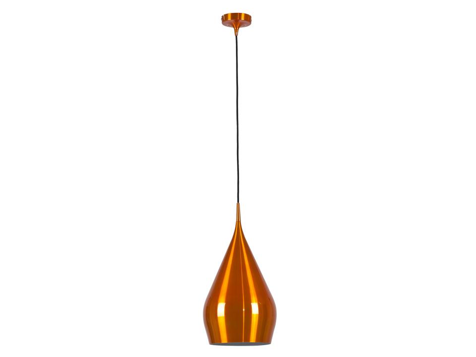 Cветильник Orange CupСветильники подвесные<br>Оранжевый глянцевый подвесной светильник с внутренней частью белого цвета. Цоколь лампы: Е27.<br>