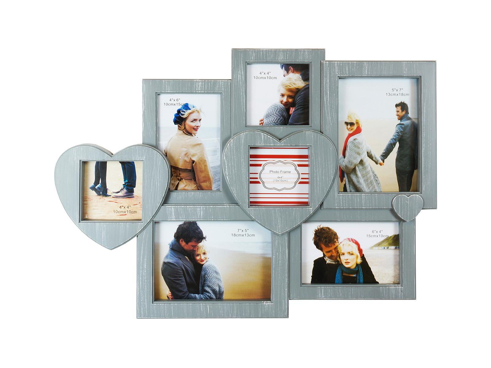 Фоторамка Happy MomentsФоторамки<br>Рамка для 7-ми фотографий, подвесная<br>