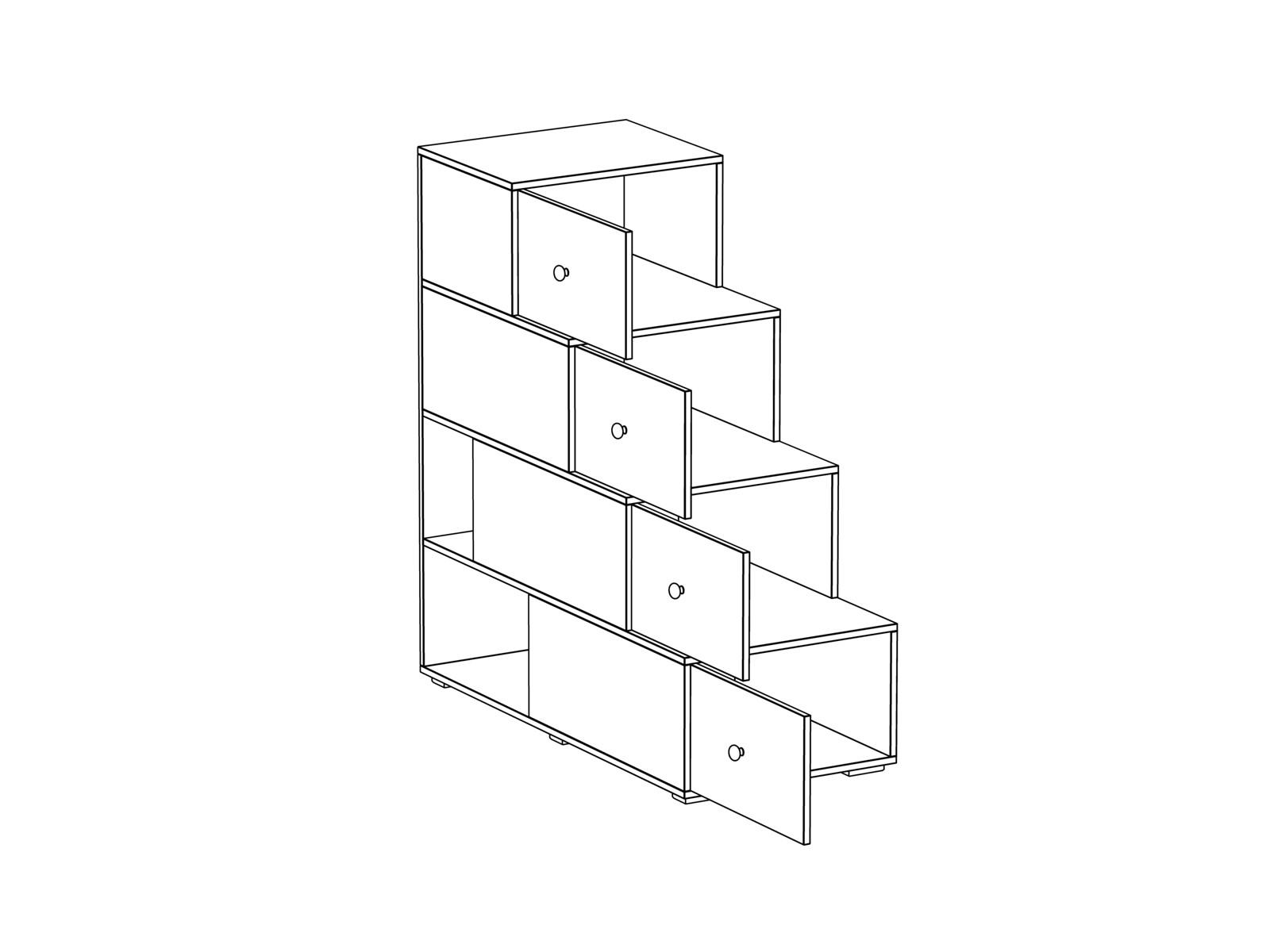 Лестница-комод Play
