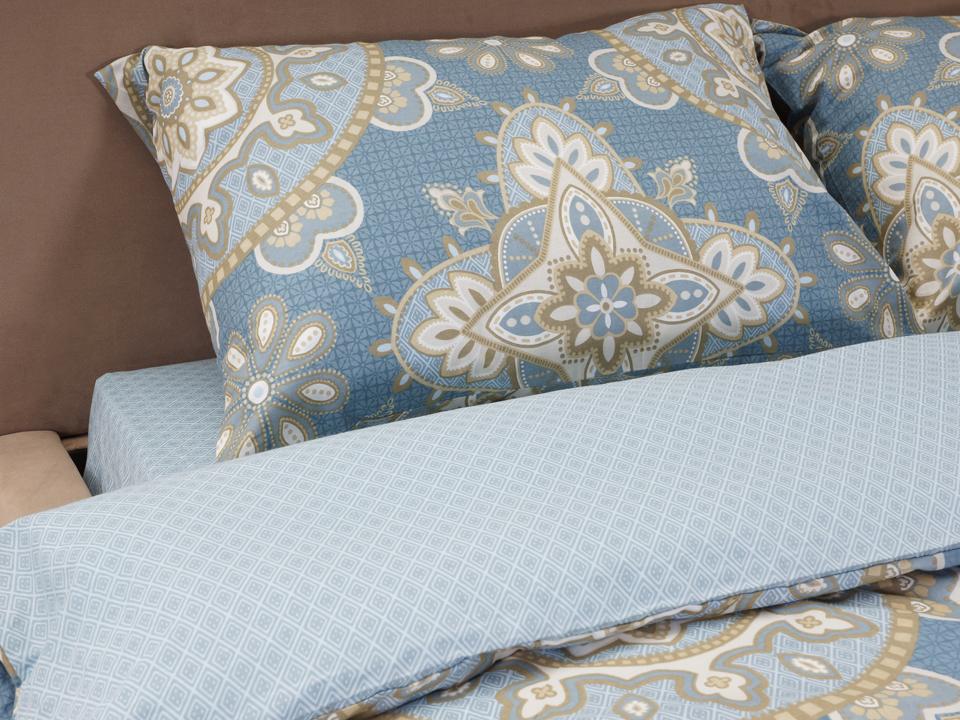 Комплект постельного бельяПостельное белье<br>Двуспальный комплект. Коллекция разработана английской дизайнерской студией.<br>