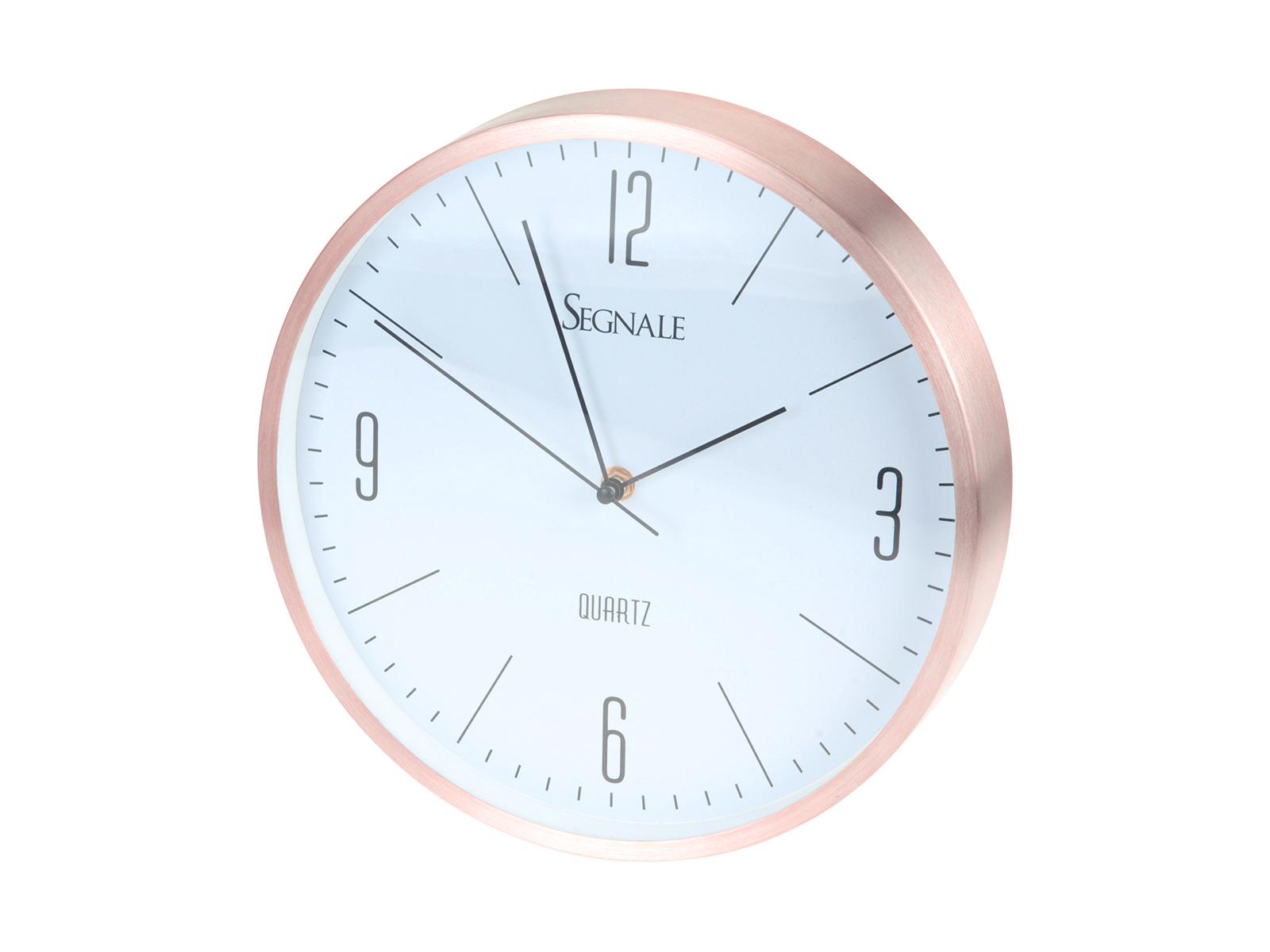 Часы FalmouthЧасы<br>Настенные часы, в металлическом корпусе<br>