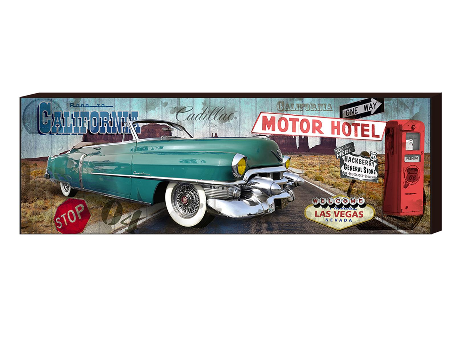 Постер Motor Hotel, 1500x500Постеры<br>Постер в раме Decobox<br>