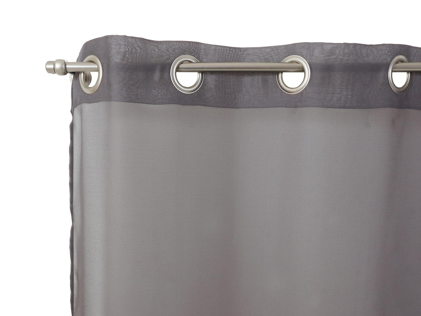 Штора VoileШторы<br>Штора прозрачная (тюль) на металлических люверсах Производство: Франция.<br>