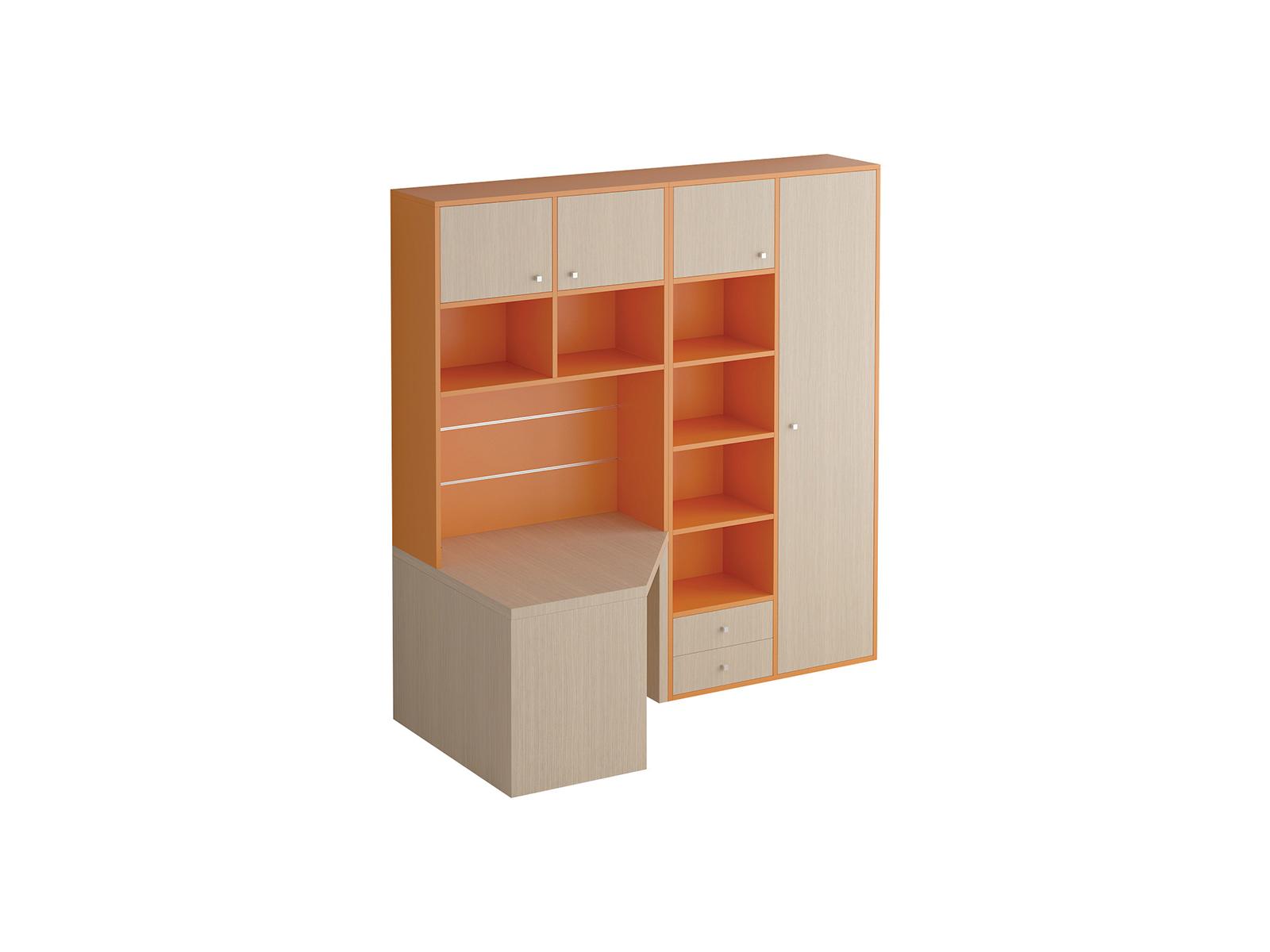 Композиция Pinokkio №8_1Основной раздел каталога<br>Широкий ассортимент модулей и яркий выбор цветов корпусов и фасадов. В коллекции ипользуется фурнитура производства Италии.<br>