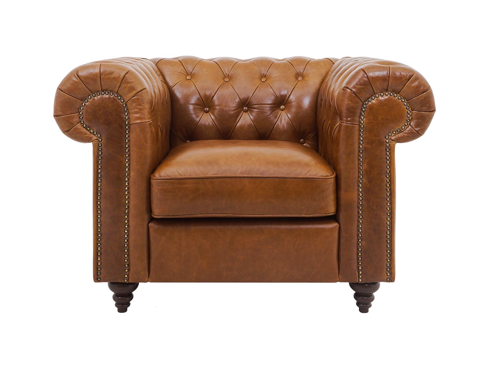 Кресло Chester ClassicКресла<br>Классическое кресло. Благодаря наклону мягкой спинки кресло Chester Classic считается креслом повышенной комфортности. Кресло изготовлено из натуральной, классической кожи с эффектом пулл-ап (кожа светлеет в местах натяжения), что придает винтажный облик ...<br>
