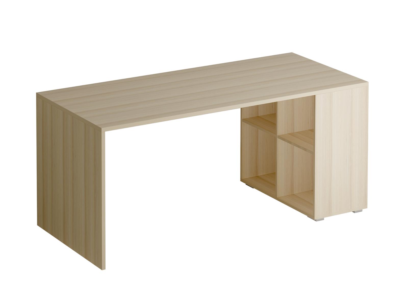 Стол PlayСтолы<br>Стол рабочий со встроенным отделением из 4 полок. Комбинируется с навесным модулем с 6 полками.<br>