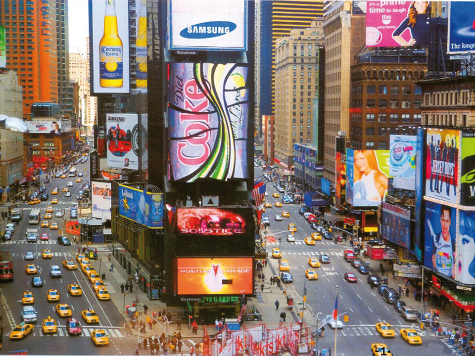 Постер Times SquareПостеры<br>Все темы и сюжеты для репродукций и постеров берут своё начало из произведений известных итальянских, немецких, голландских, английских, канадских и американских художников.<br>