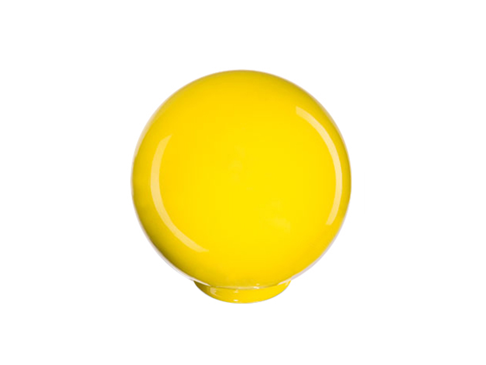 Ручка Play желтаяОсновной раздел каталога<br>Ручка в виде шара для фасадов Play<br>