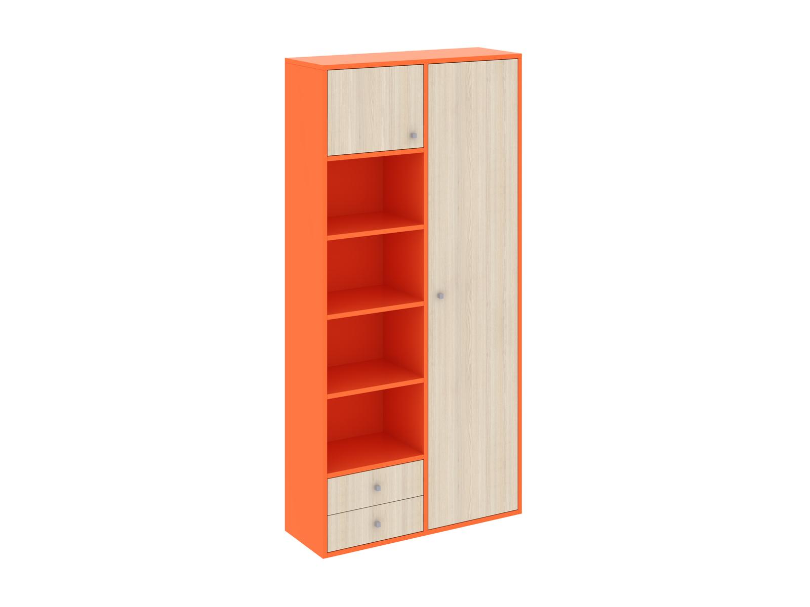 Шкаф PinokkioШкафы<br>Шкаф комбинированный имеет два отделения. В первом отделении расположены полки. Во втором - выдвижная штанга для одежды. Данный шкаф выполнен в левостороннем исполнении<br>