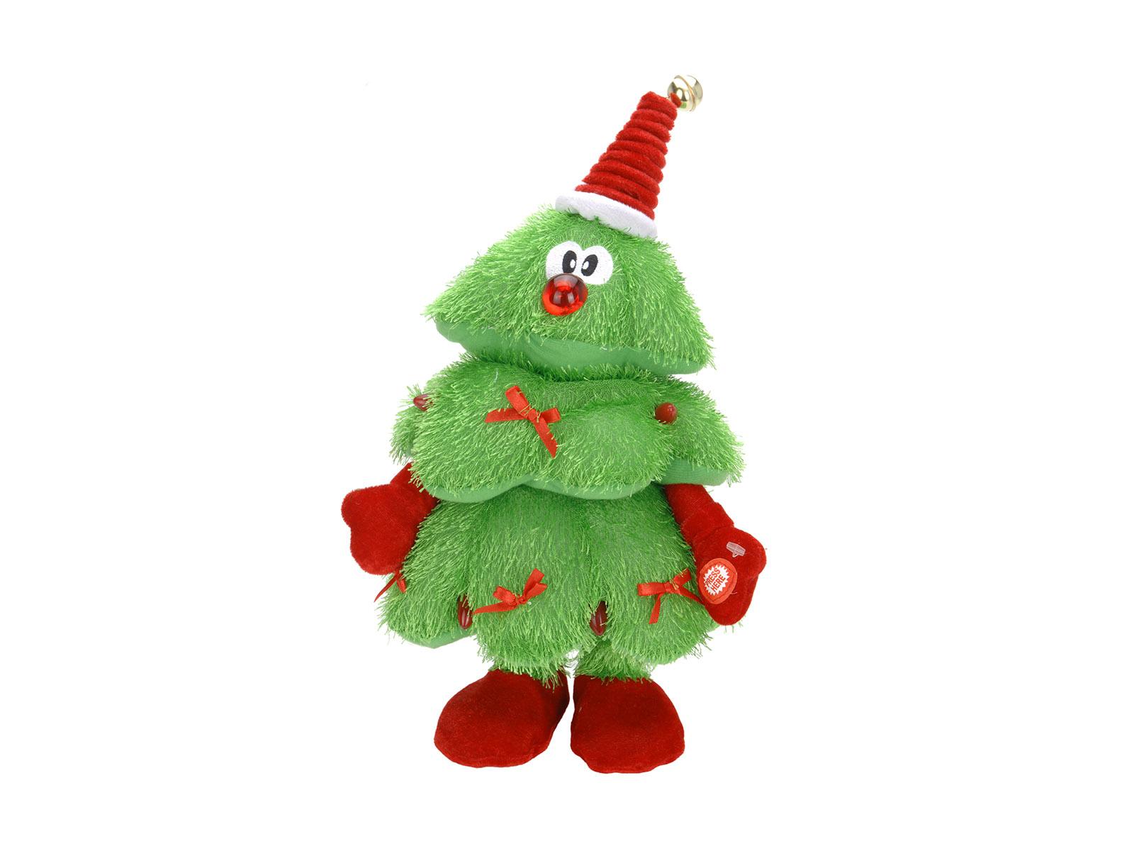 Игрушка Christmas TreeНовогодний декор<br>Музыкальная ёлка с подсветкой, работающая от батареек<br>