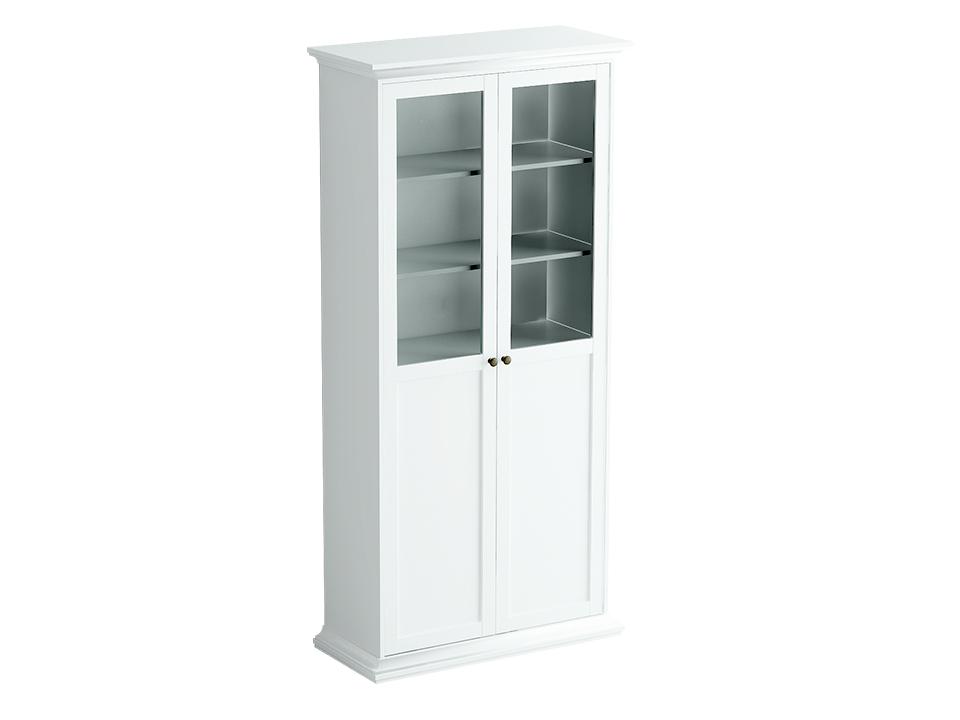 Шкаф двухдверныйШкафы<br>Шкаф состоит из одного отделения за двумя  распашными комбинированными дверцами. Внутри расположена одна стационарная и четыре съемные полки для хранения вещей.<br>