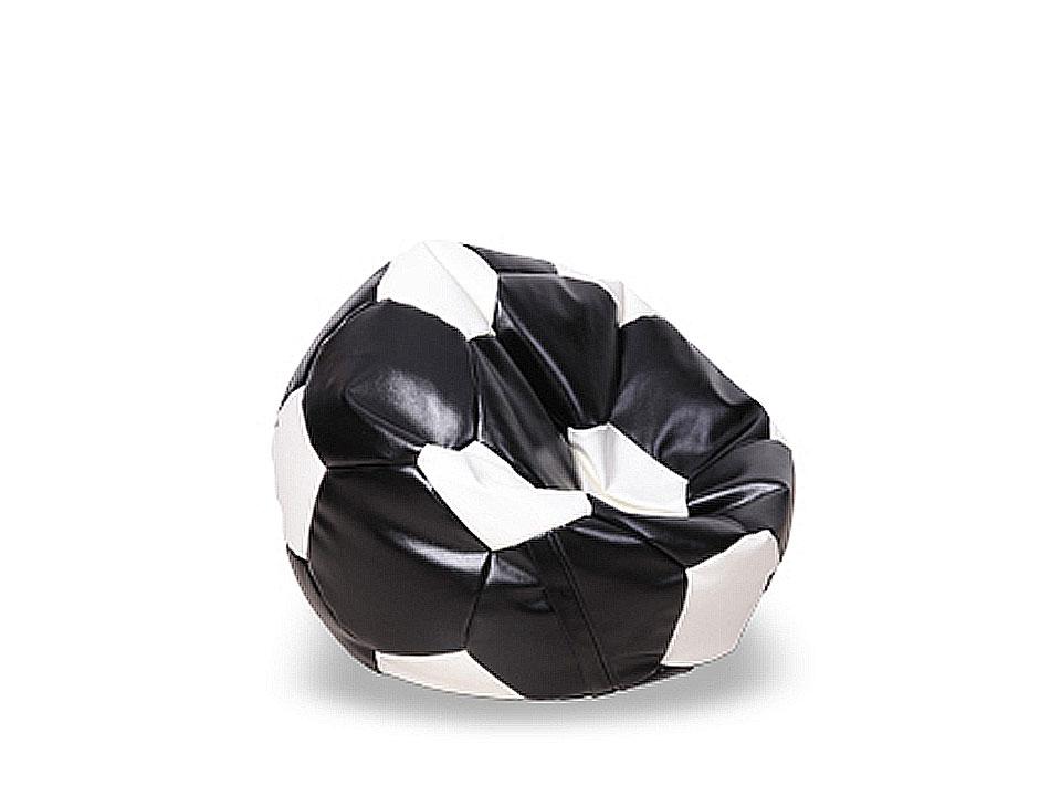 Пуф Football miniПуфы<br>Пуф бескаркасный в форме футбольного мяча. Предусмотрена возможность дополнительной засыпки наполнителя, для этого имеется специальный клапан. Каталог материалов, PDF  Инструкция по наполнению пуфов, PDF<br>