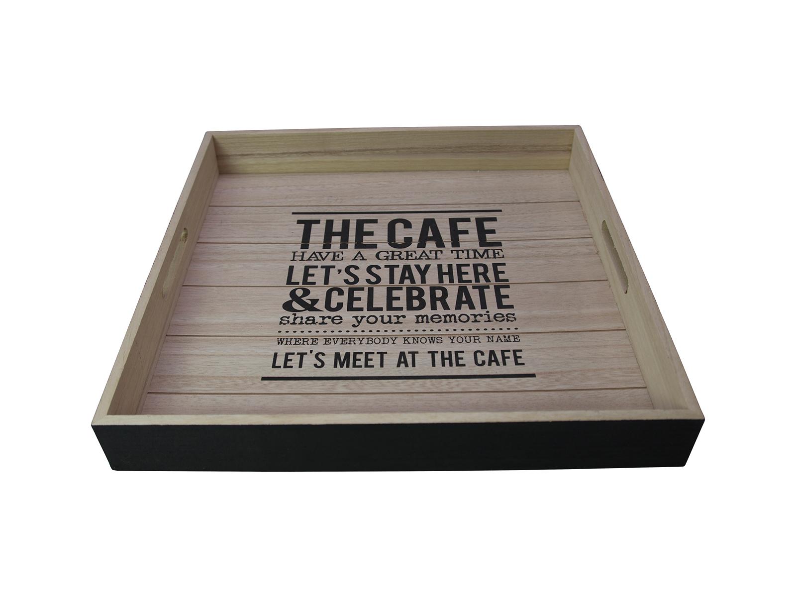 Поднос The CafeПосуда<br>Сервировочный поднос<br>