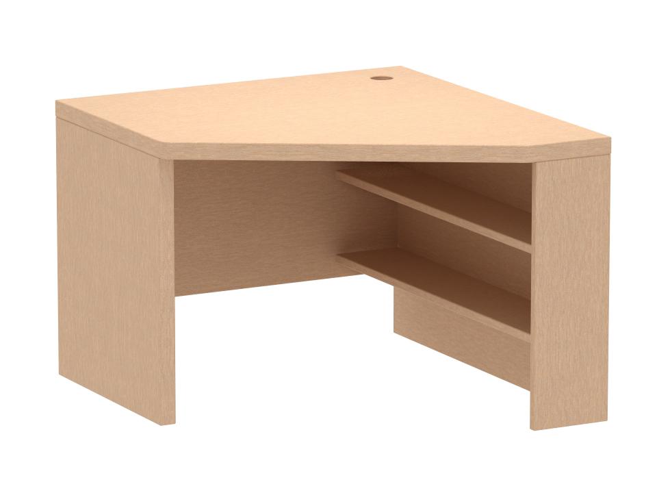 Стол угловой PinokkioСтолы<br>Стол рабочий угловой устанавливается в нижнем ярусе кровати-чердака.<br>