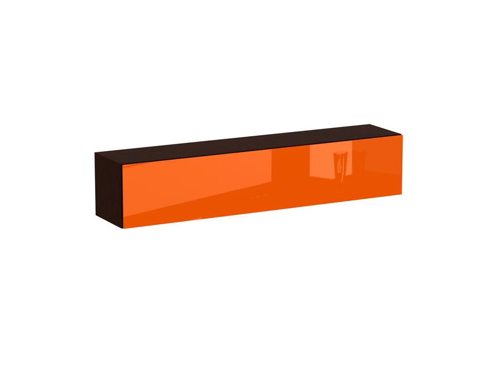 Секция нижняя CuboШкафы<br>Секция нижняя с двумя отделениями. Снабжена опускаемой дверью на газовых кронштейнах. Дверь открывается по принципу «нажал - открыл». Секция крепится к стене.<br>