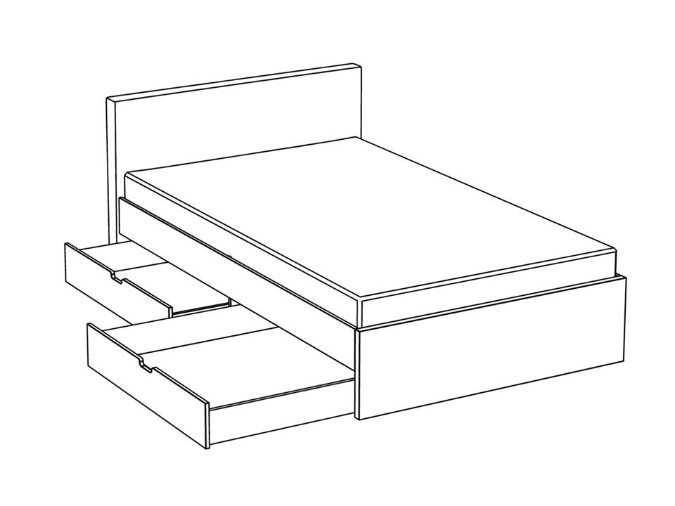 Кровать City