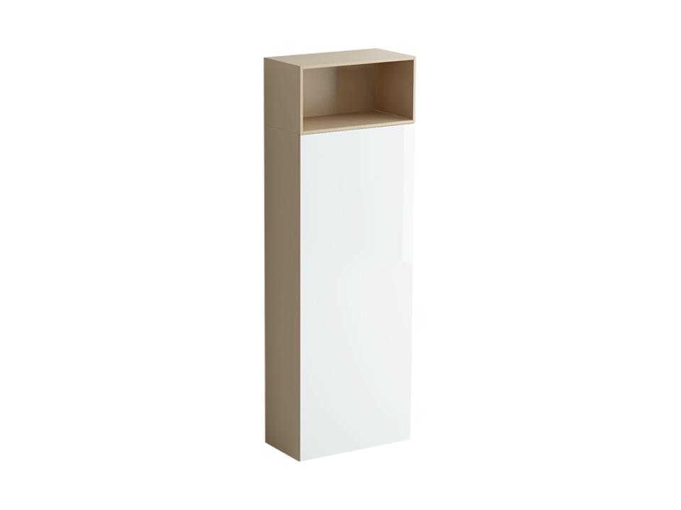 Шкаф DiamondШкафы<br>Шкаф состоит из отделения за распашной дверью и ниши над ним. Отделение оборудовано несъемной верхней полкой с выдвижным приспособлением для хранения одежды на плечиках и 3 съемными полками. Дверь может быть подвешена слева или справа. Двери шкафа открыва...<br>