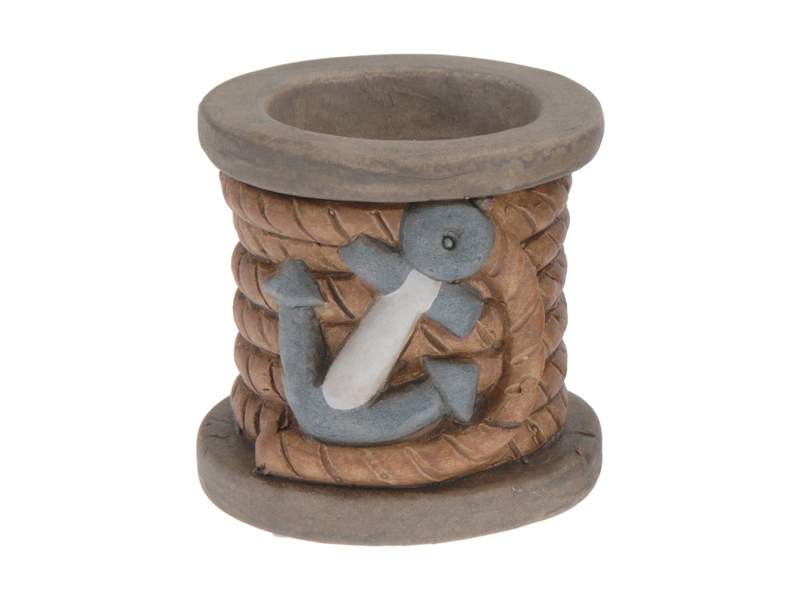 Подсвечник MarineСвечи и подсвечники<br>Подсвечник декоративный с морским дизайном<br>