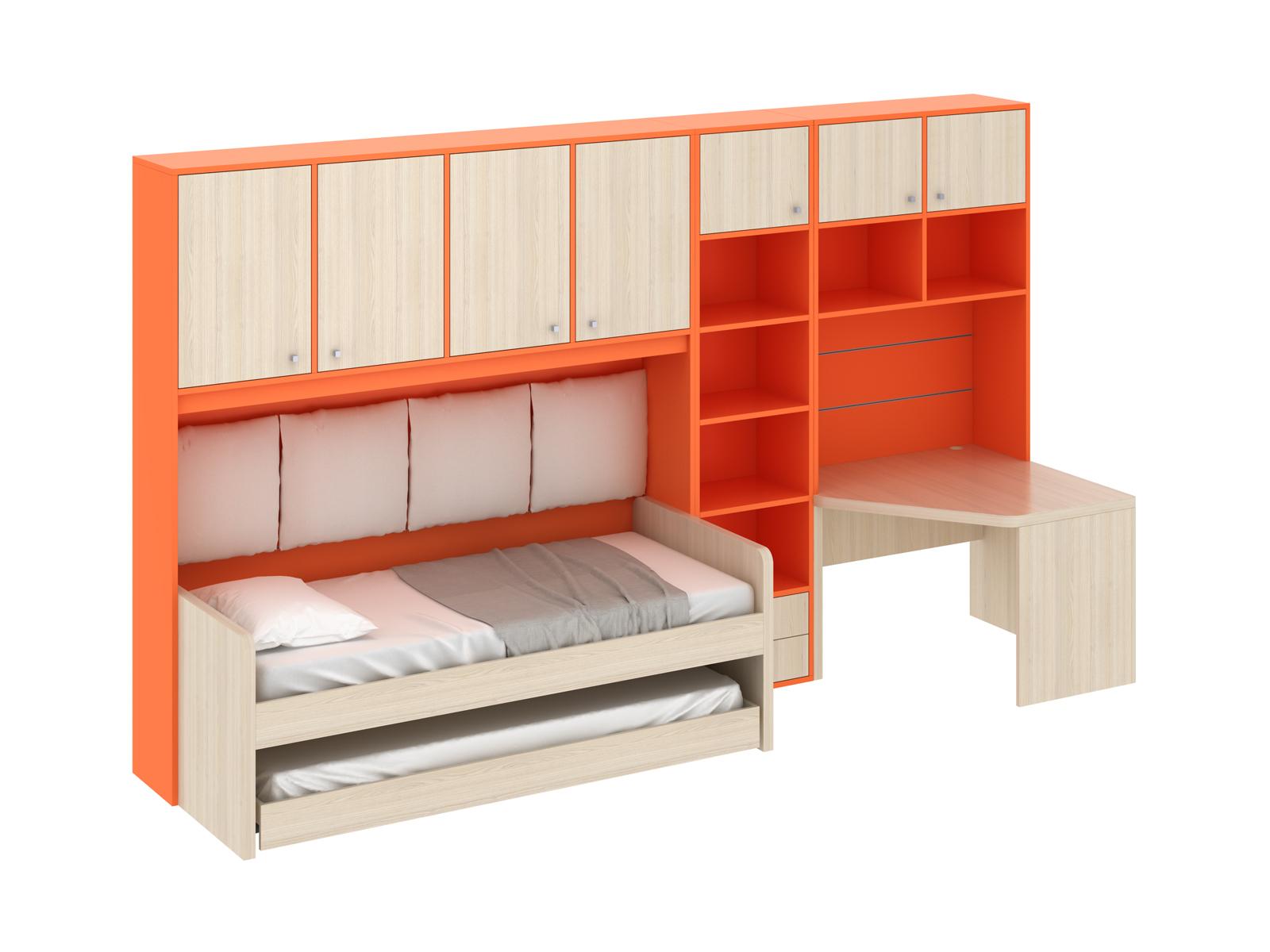 Композиция Pinokkio 6Основной раздел каталога<br>Широкий ассортимент модулей и яркий выбор цветов корпусов и фасадов. В коллекции ипользуется фурнитура производства Италии.<br>
