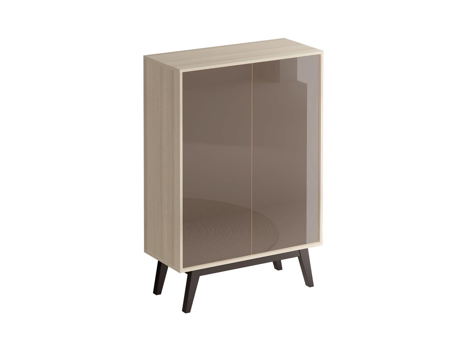Шкаф CappuccinoШкафы<br>Шкаф комбинированный для гостиной. Дверцы открываются по принципу «нажал - открыл».<br>