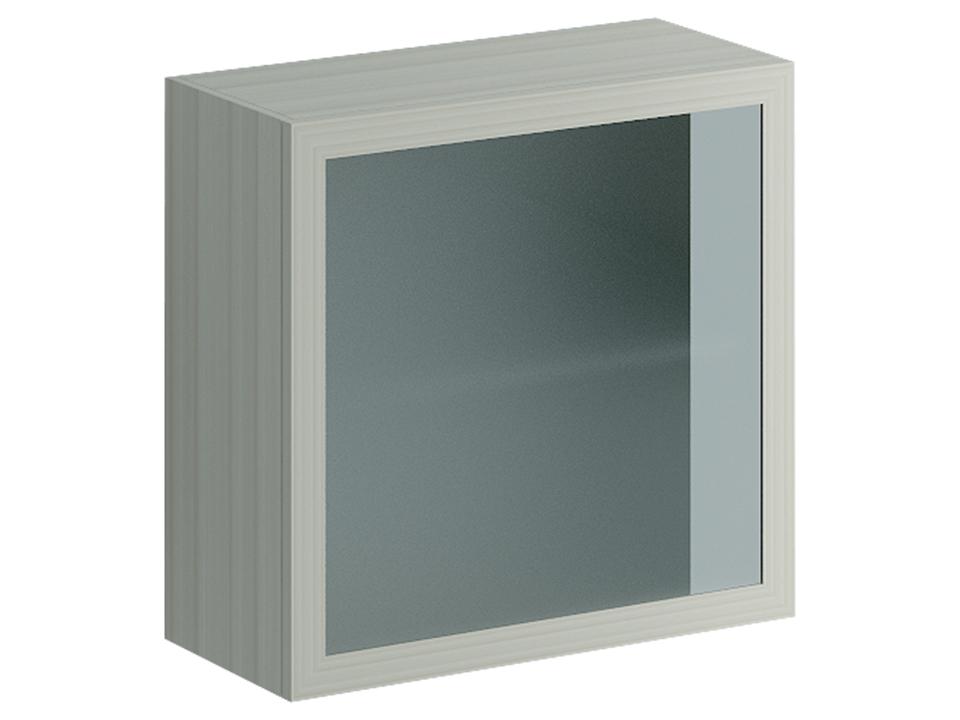 Шкаф навесной LimboШкафы<br>Шкаф навесной с двумя отделениями, полкой и стеклянным фасадом. Открывается по принципу «нажал – открыл»<br>
