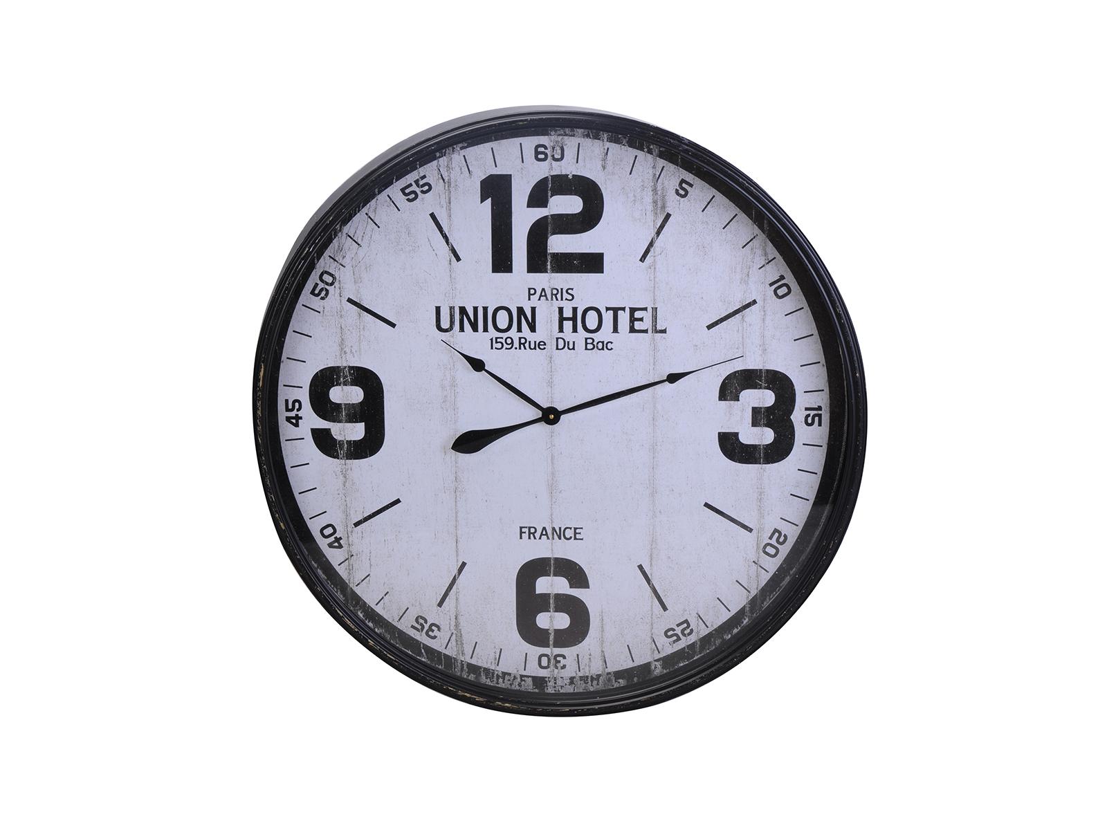 Часы Union HotelЧасы<br>Часы настенные в металлическом корпусе<br>