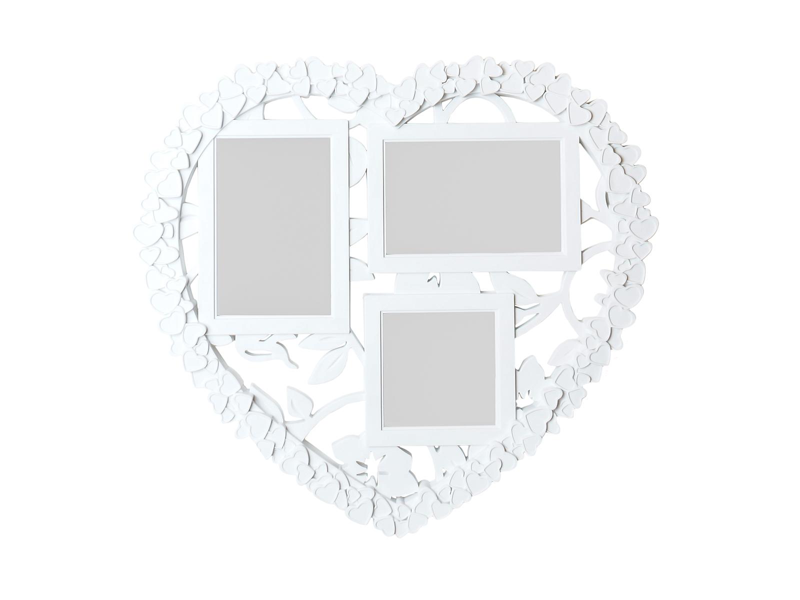 Фоторамка HeartФоторамки<br>Рамка для 3-х фотографий, подвесная<br>