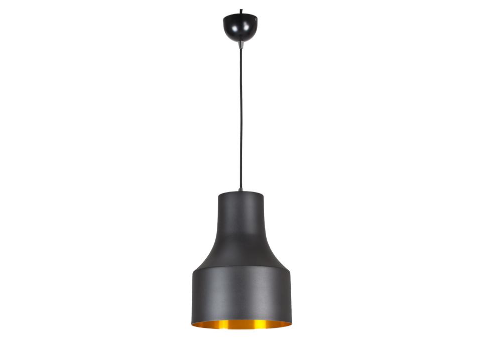 Cветильник BellСветильники подвесные<br>Светильник подвесной, матовый. Внутренняя часть золотого цвета. Цоколь лампы: Е27.<br>