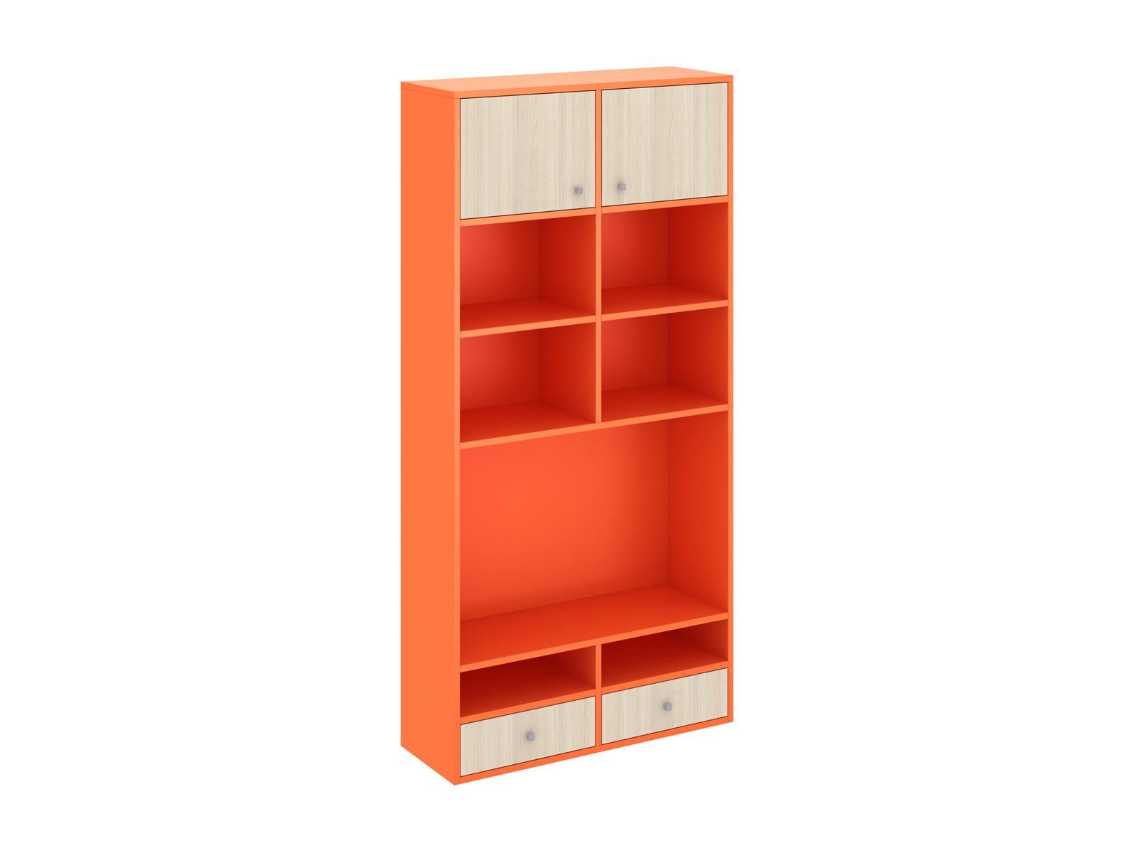Шкаф PinokkioШкафы<br>Шкаф для телеаппаратуры имеет нишу для установки телевизора, закрытые и открытые полки, выдвижные ящики.<br>