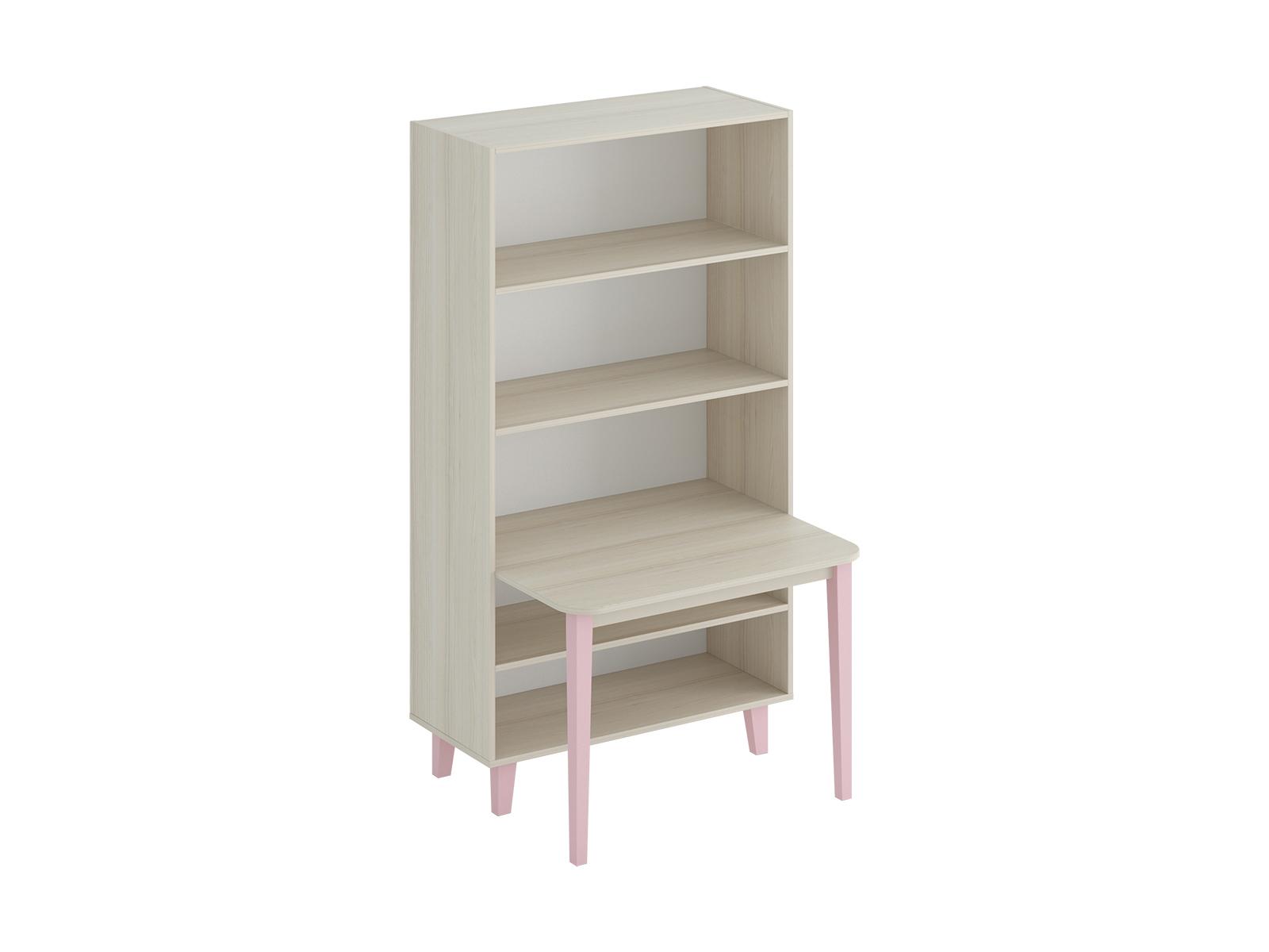 Стеллаж со столом CandyСтеллажи<br>Комбинация стеллажа со столом. Рекомендуемая высота сидения стула 340 мм.<br>