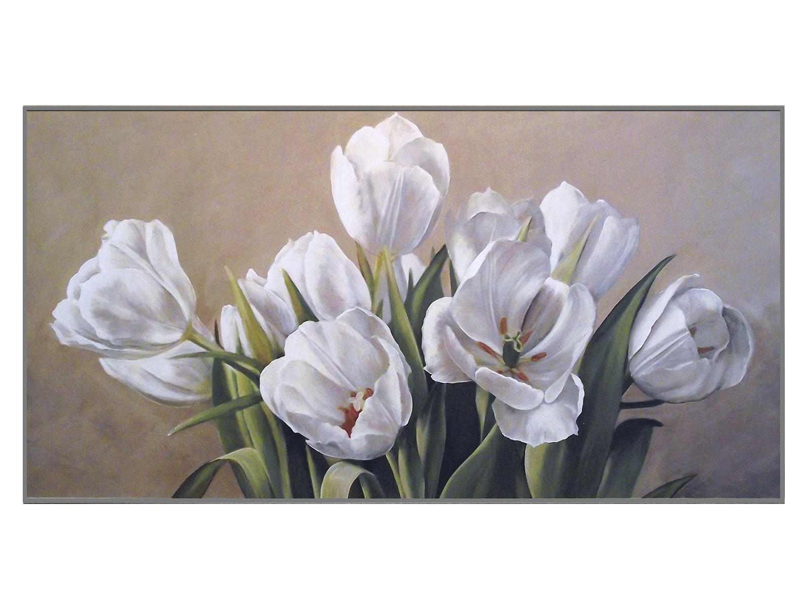 Постер White TulipsПостеры<br><br>