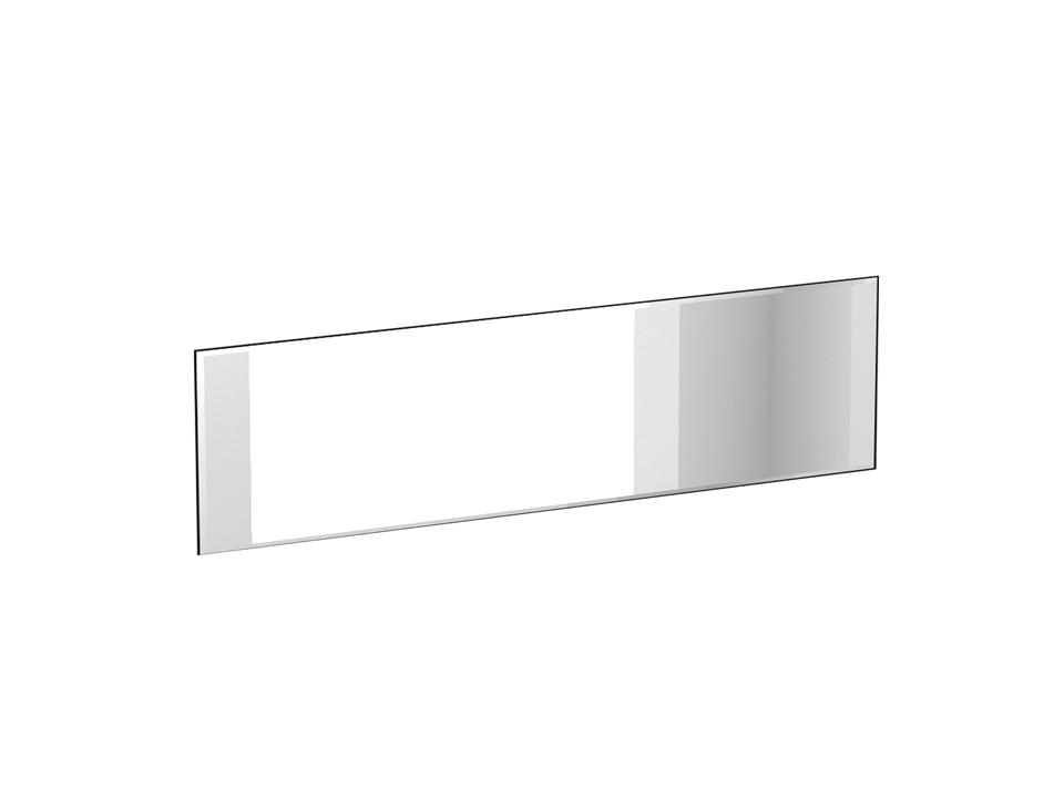 Зеркало FijiЗеркала<br>Зеркало настенное крепится на стену горизонтально. Наклеено на щитовую основу в цвете «Тик».<br>
