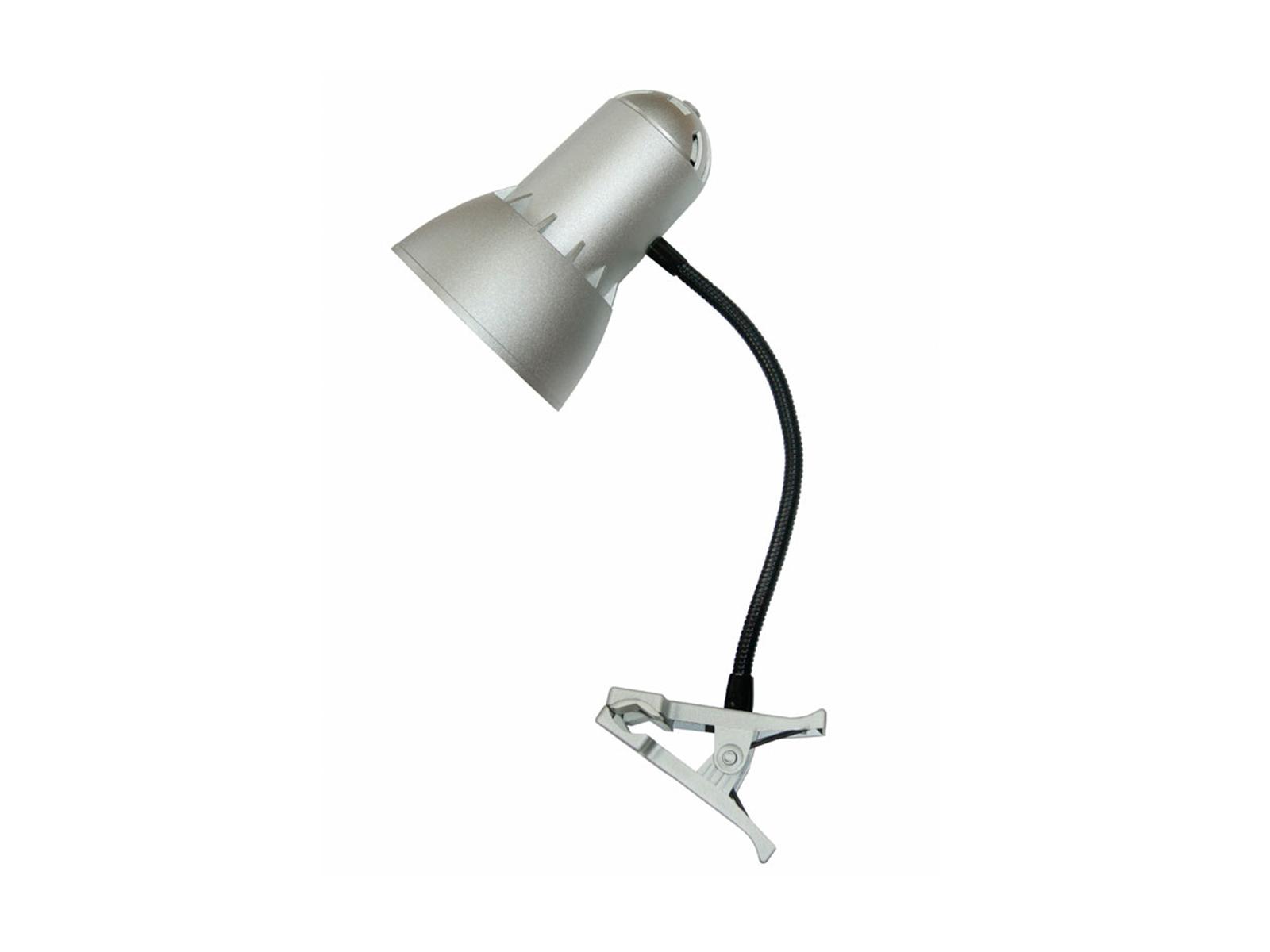 Светильник PupilСветильники настольные<br>Настольный светильник на прищепке устанавливается на горизонтальную или вертикальную поверхность. Гибкая стойка светильника позволяет размещать плафон в любое нужное положение.  Цоколь лампы: Е27. Недопустимо использование ламп накаливания без зеркального...<br>