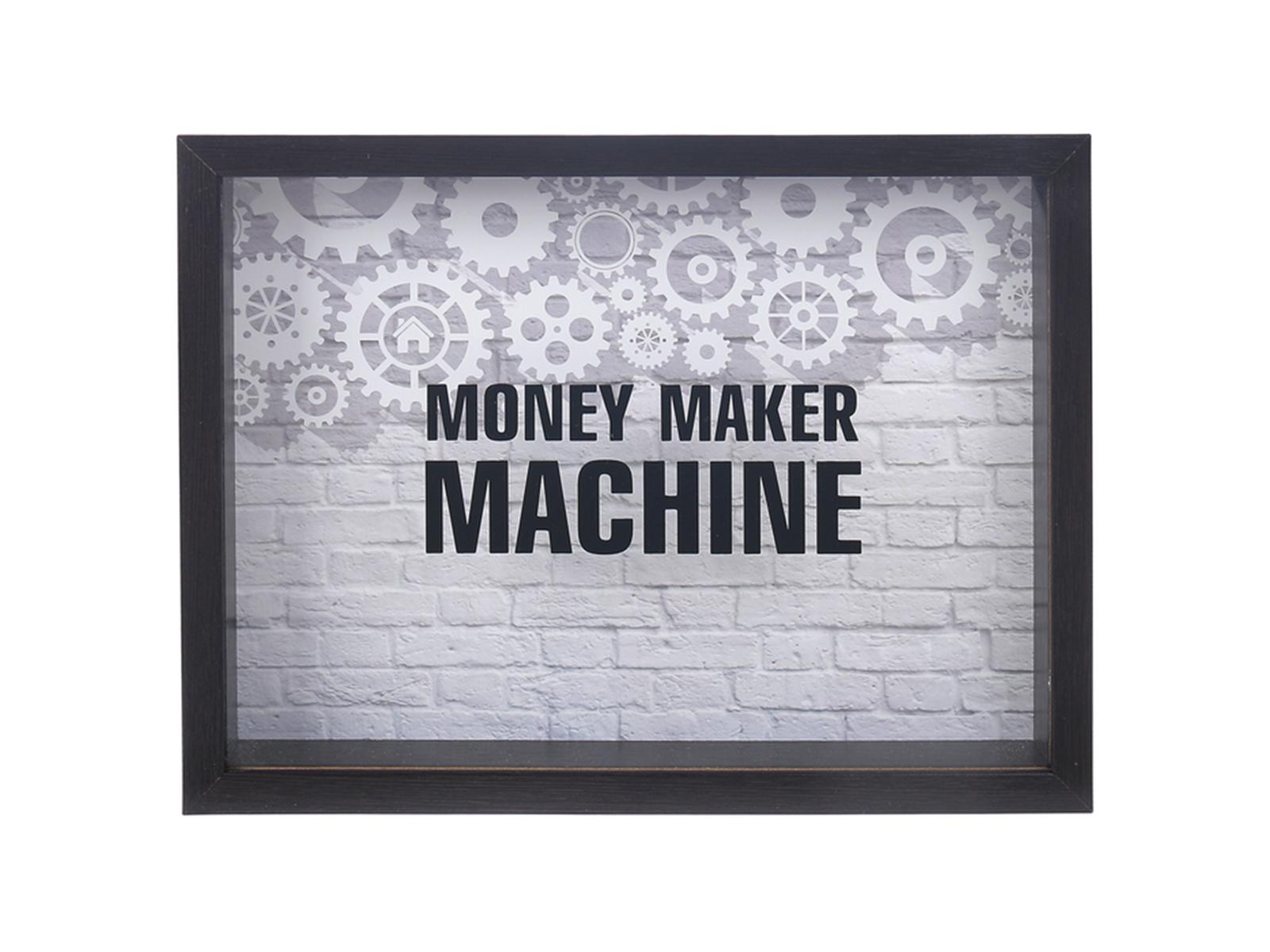 Рамка MoneyОформление интерьера<br>Рамка-копилка денежная<br>