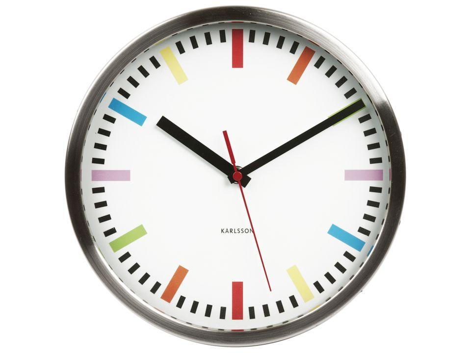 Часы RainbowЧасы<br>Настенные часы  1 батарейка АА<br>